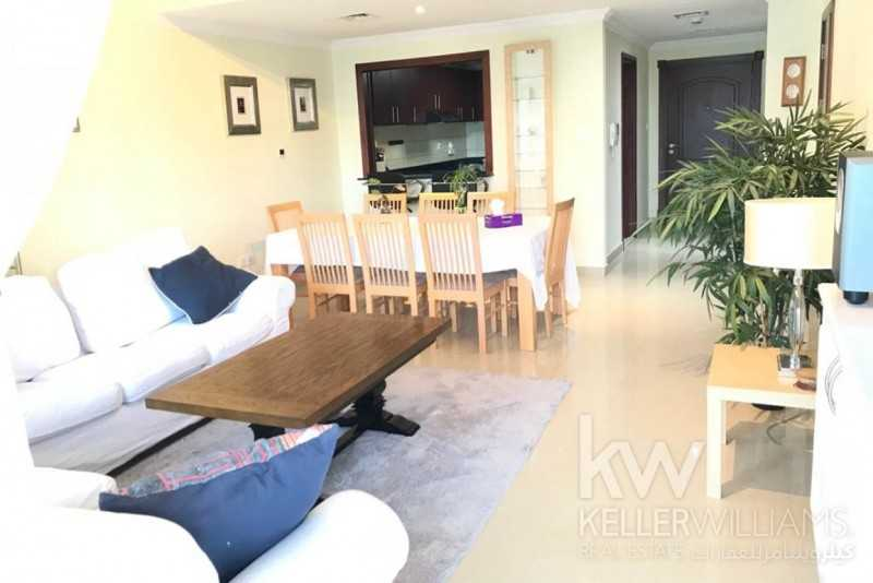 Lovely Furnished 2BR Balcony Marina View Time Place