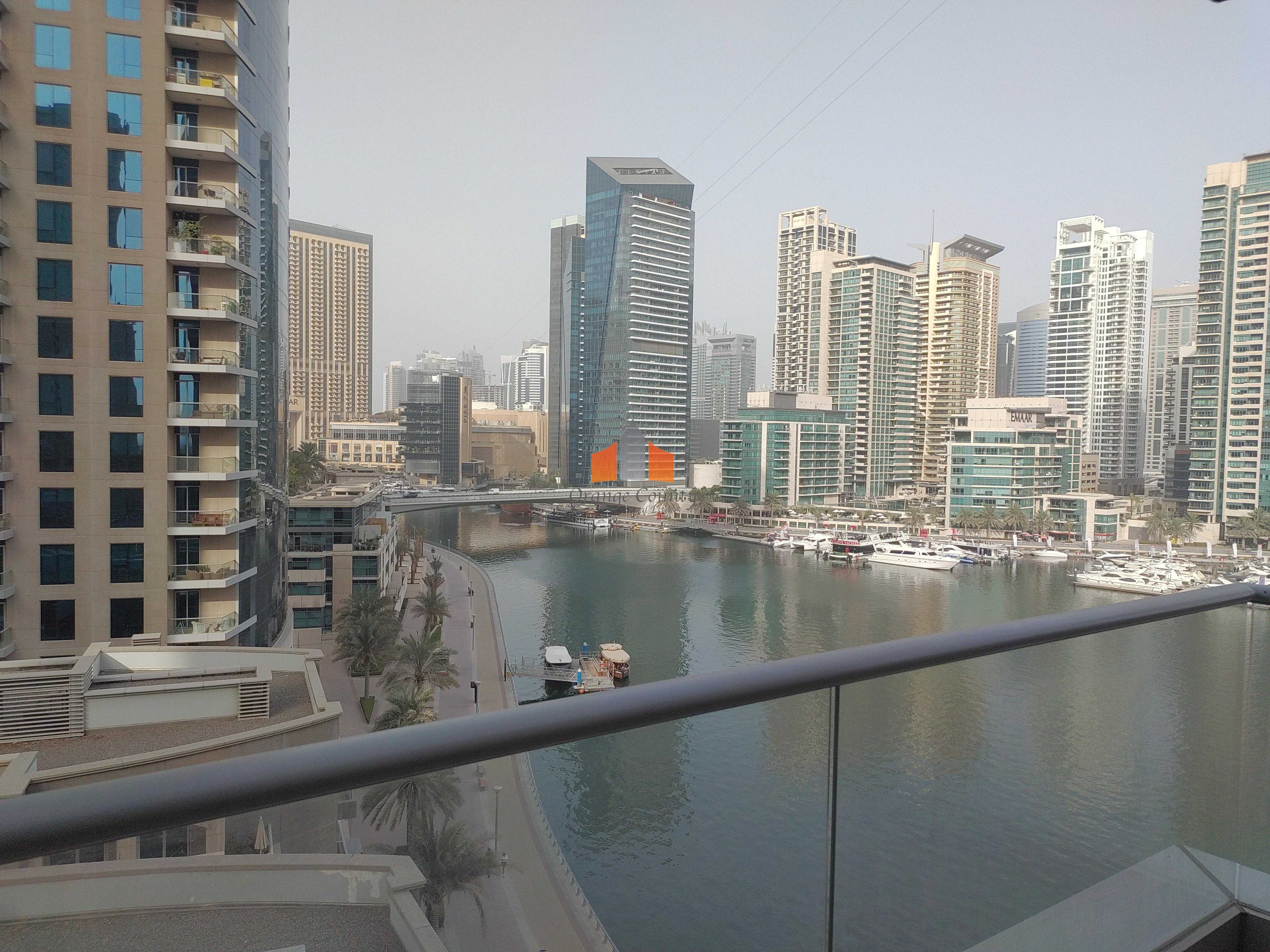 Wonderful Marina view  Well maintained  4 cheques only  Call now!