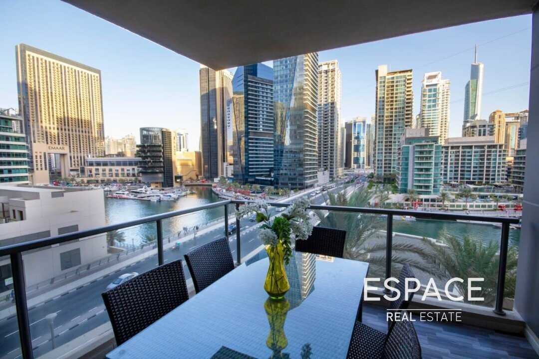 Upgraded | Fully Furnished | Marina View