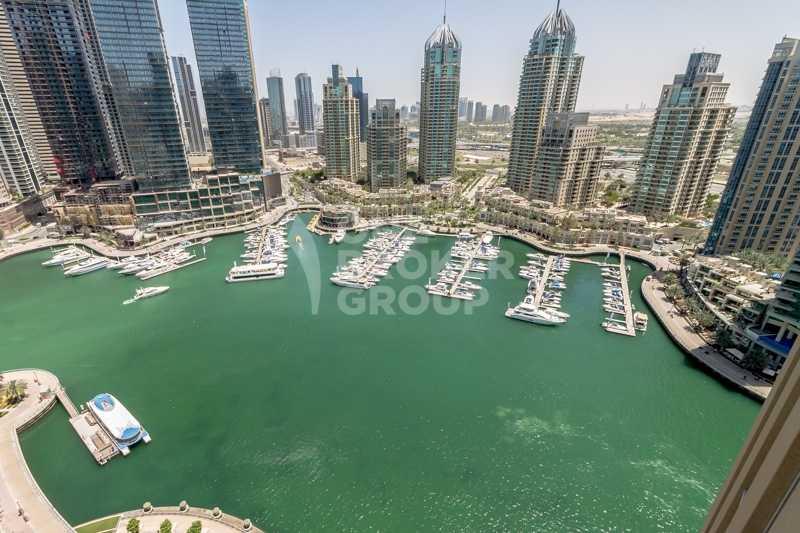 Full Marina View, 3BED I Unfurnished I Vacant