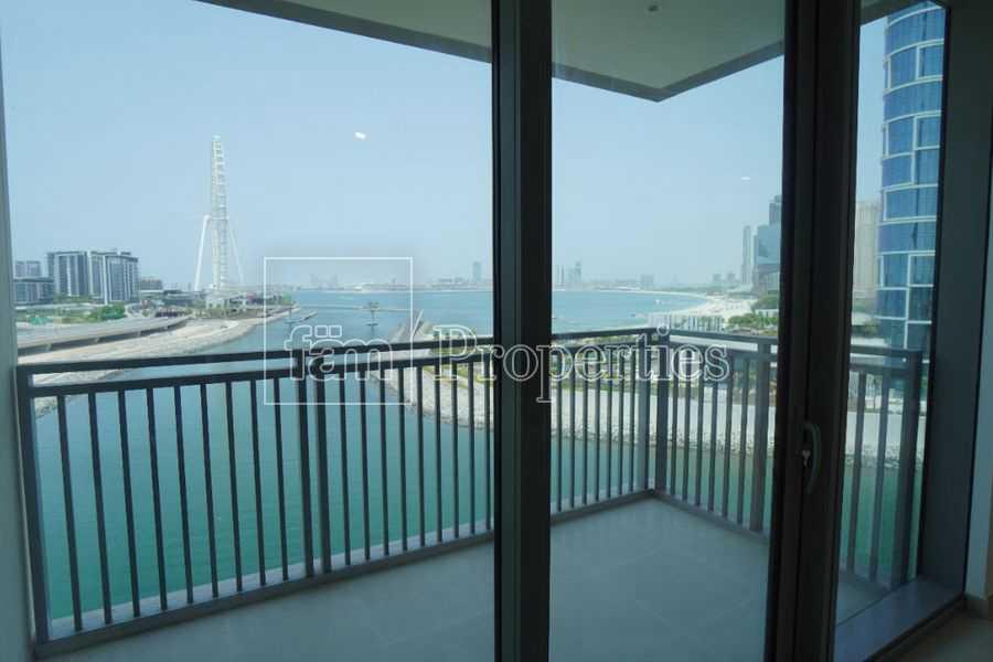 Brand new 2 bedroom with Dubai Eye view
