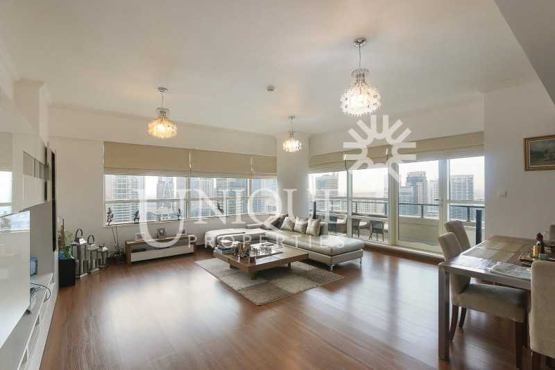 Furnished 2BR |Upgraded |  Full Marina view