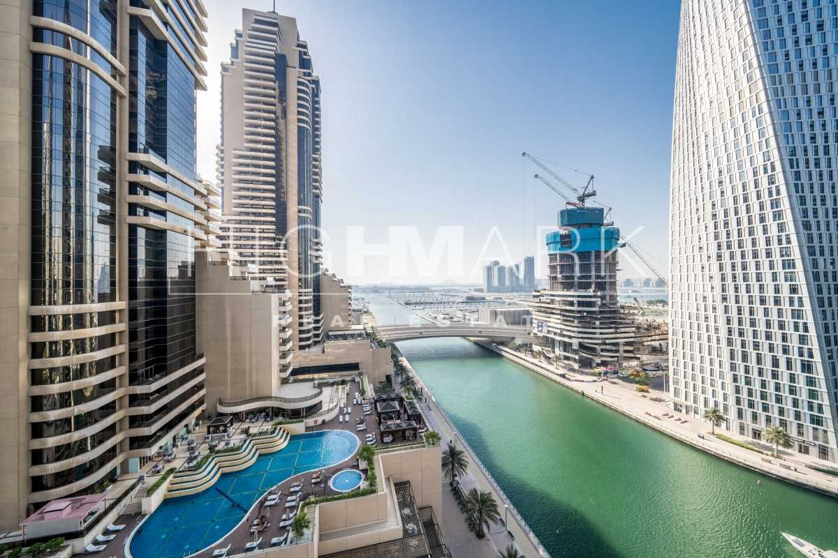 Huge 2 BR   Vacant   Full Marina View   Must See