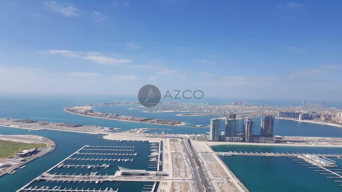 High Floor| Full Sea View| Next to Marina Walk