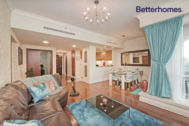 Pool View| Low Floor| Unfurnished| Rented|Upgraded