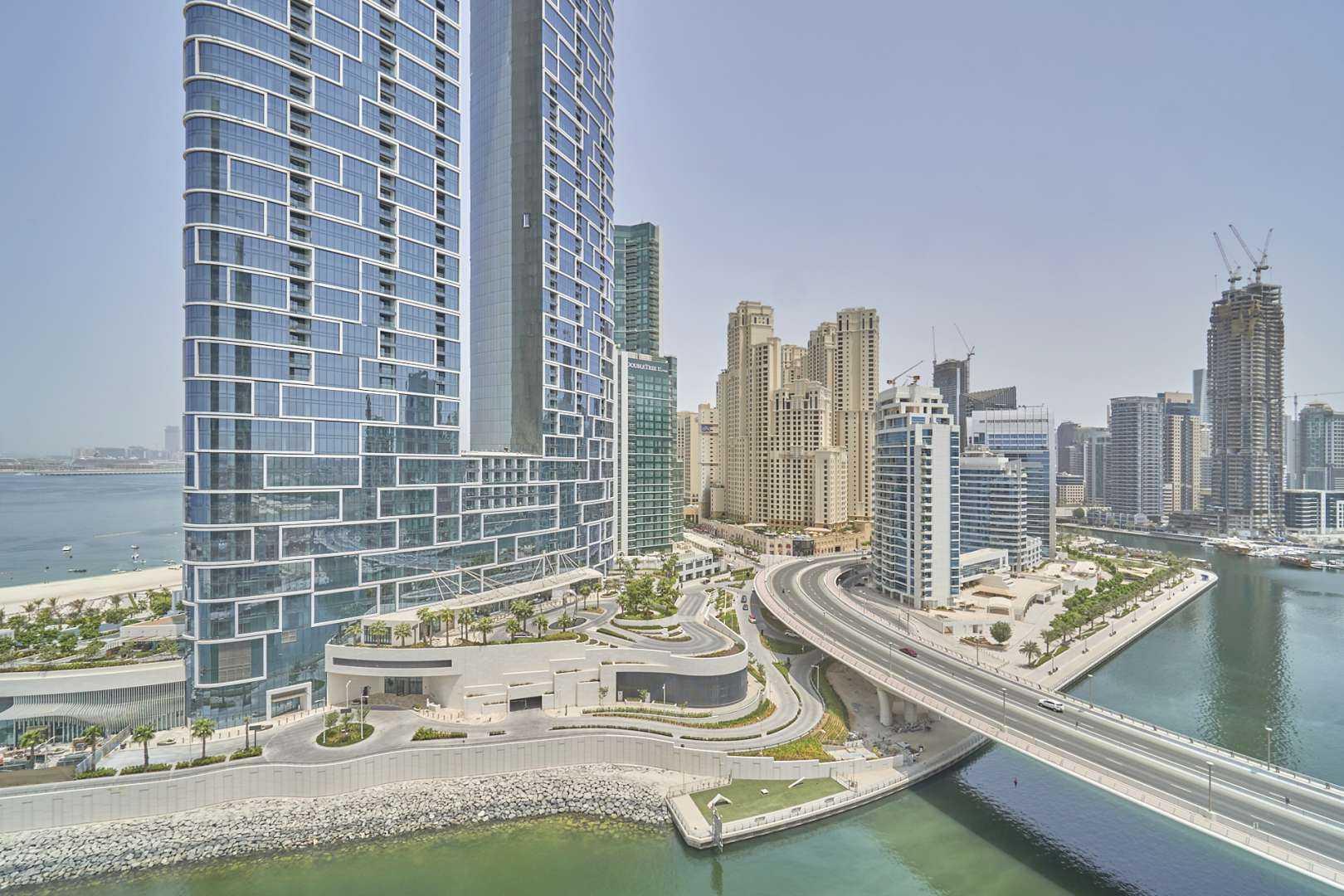 Corner Unit with Marina and Ain Dubai Eye View