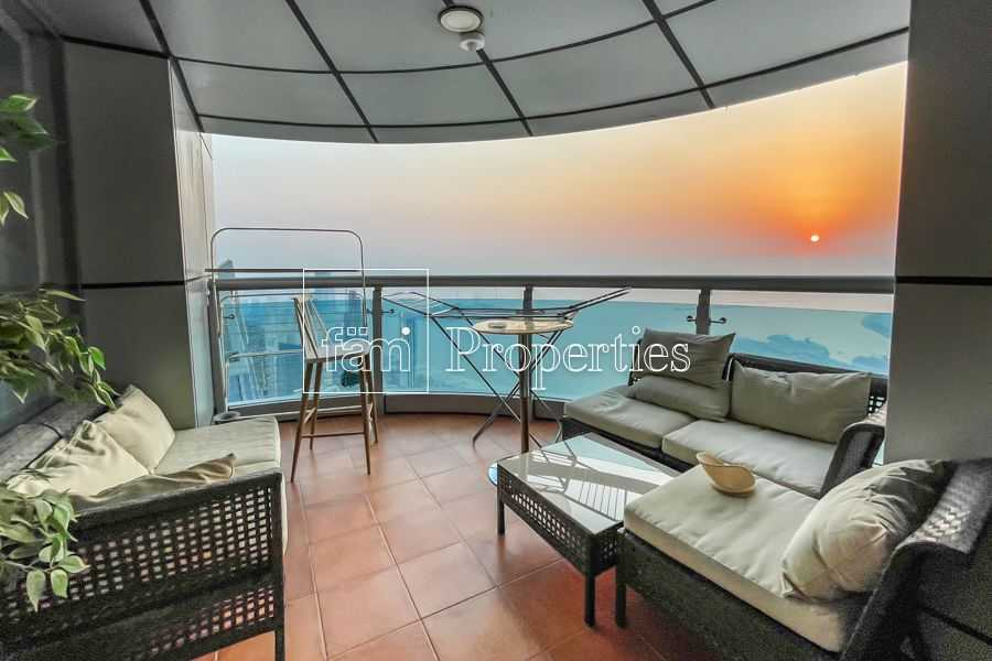 Spectacular Penthouse   High Floor   Palm View