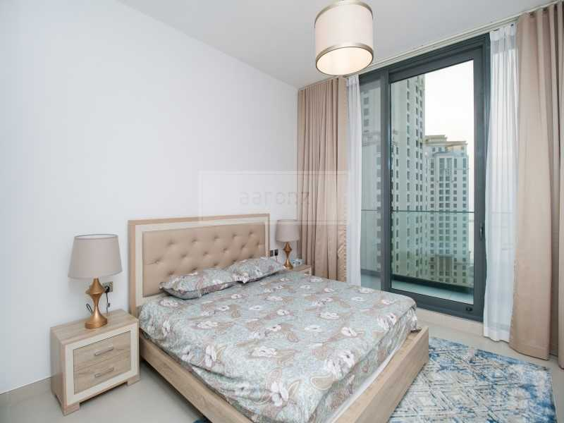 Top Floor | Vacant and Fully Furnished | JBR and SEA View