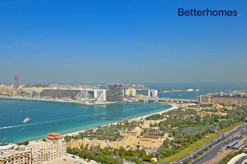 Large Lay Out  Unfurnished  Sea & Marina View