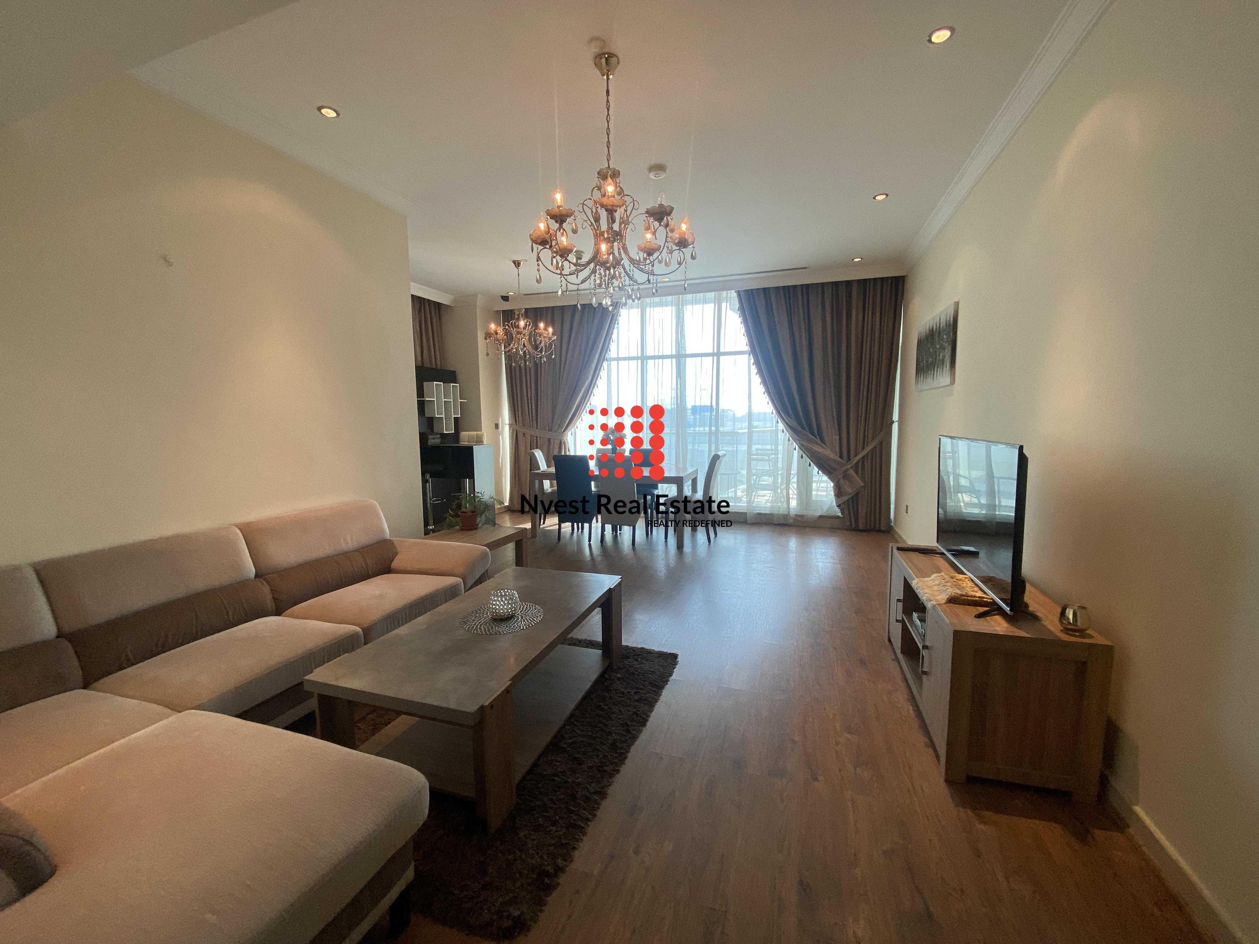 Fully Furnished 2 Bedroom-Huge Balcony-Trident Waterfront Dubai Marina