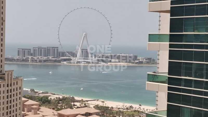 Amazing  Sea and DUBAI EYE view High floor