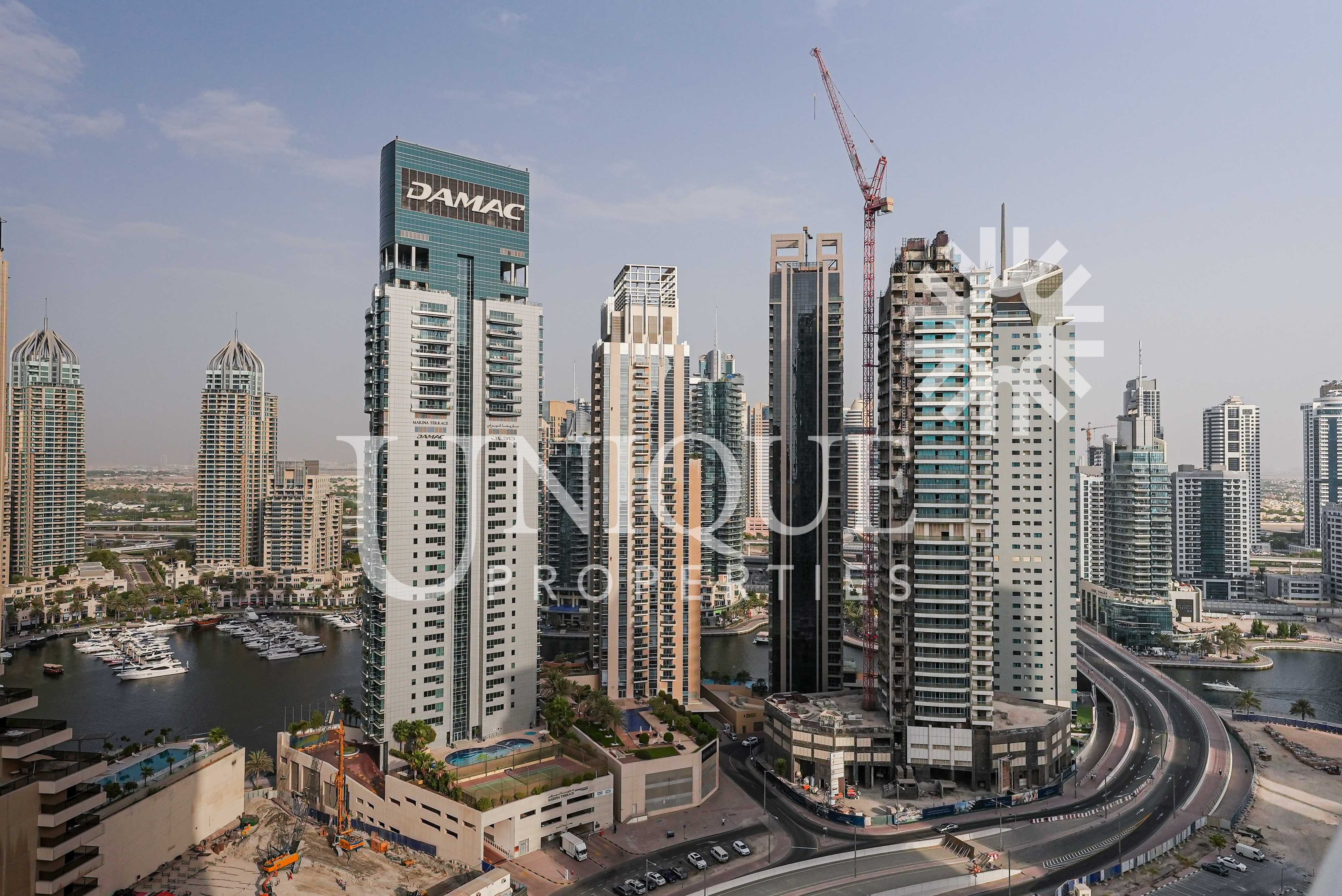 Furnished Studio   High Floor with Sea View