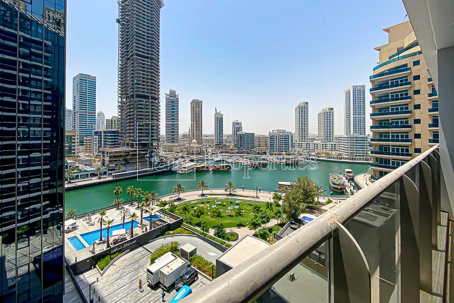 Brand New 2BR+Maids Nice Marina View