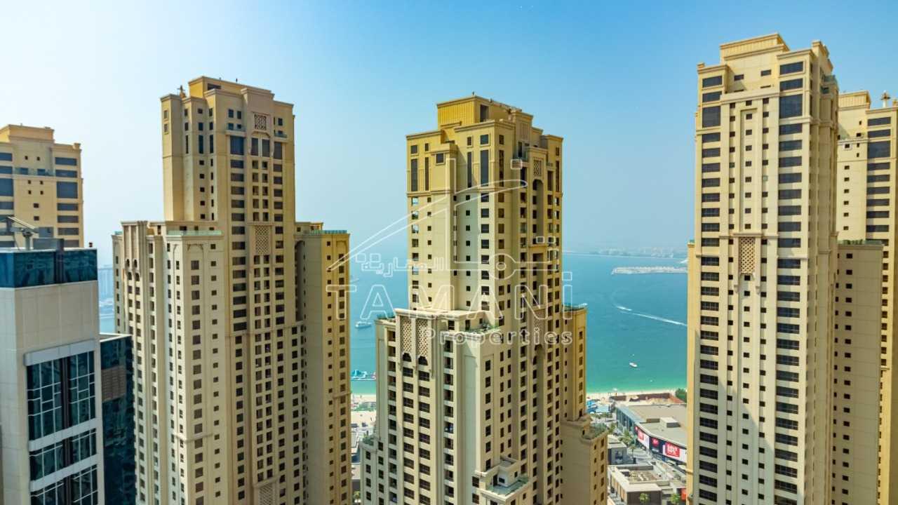 Stunning 3+Study+maids huge terrace with Sea & Marina view