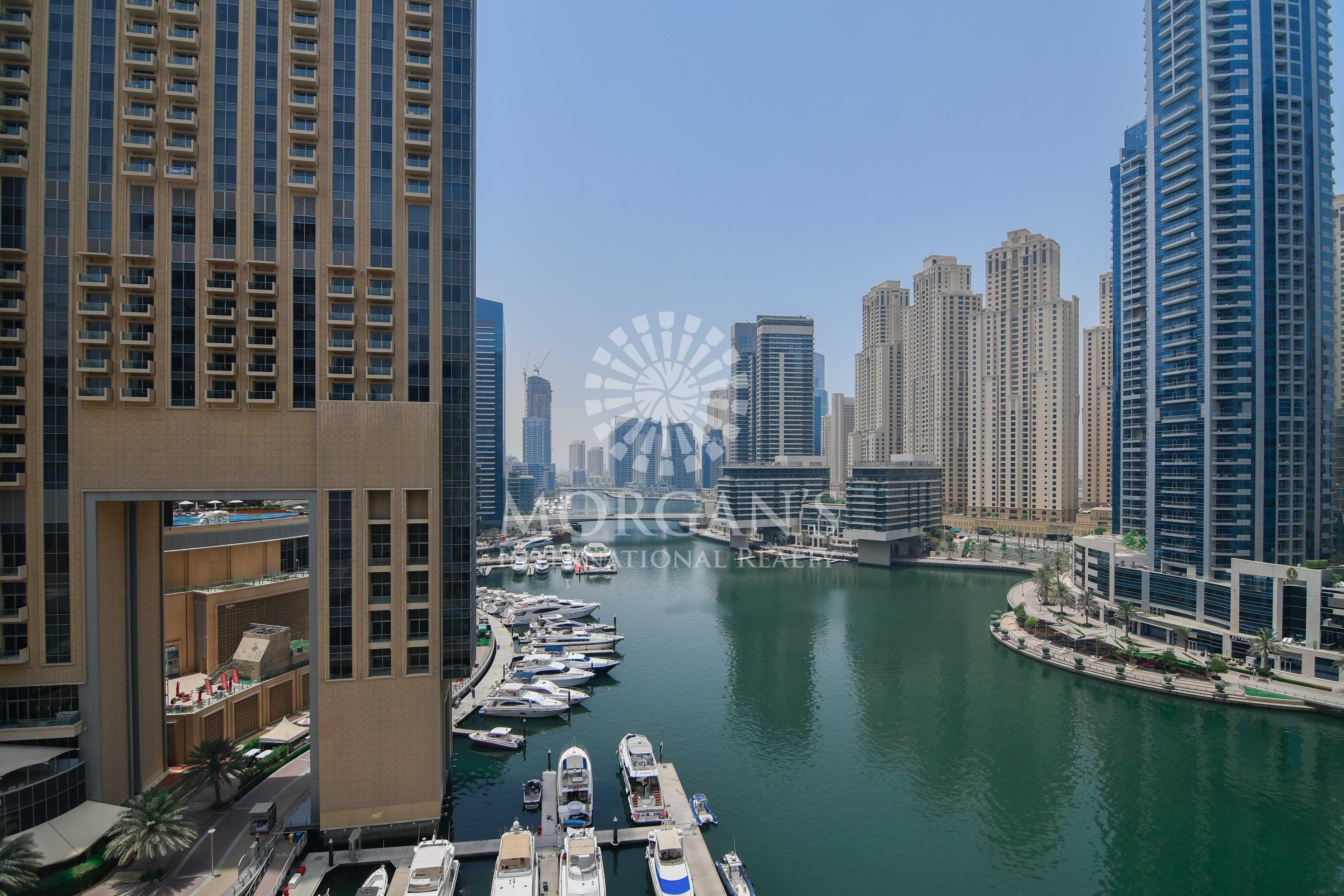 Spacious | 4 Balconies | Marina View