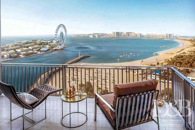 Full Sea and Dubai Eye View Unit   Genuine Ad