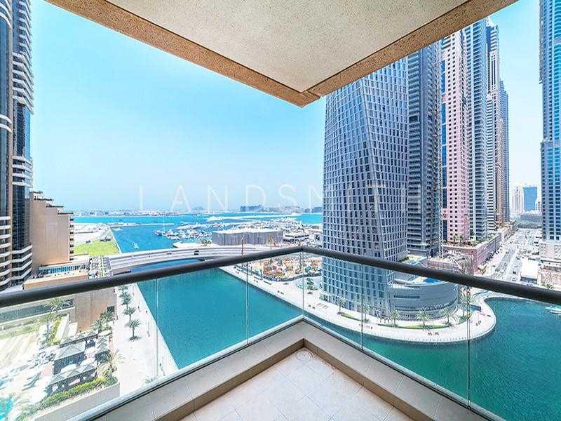 Panoramic Sea and Marina view 2BR Apt in Iris Blue