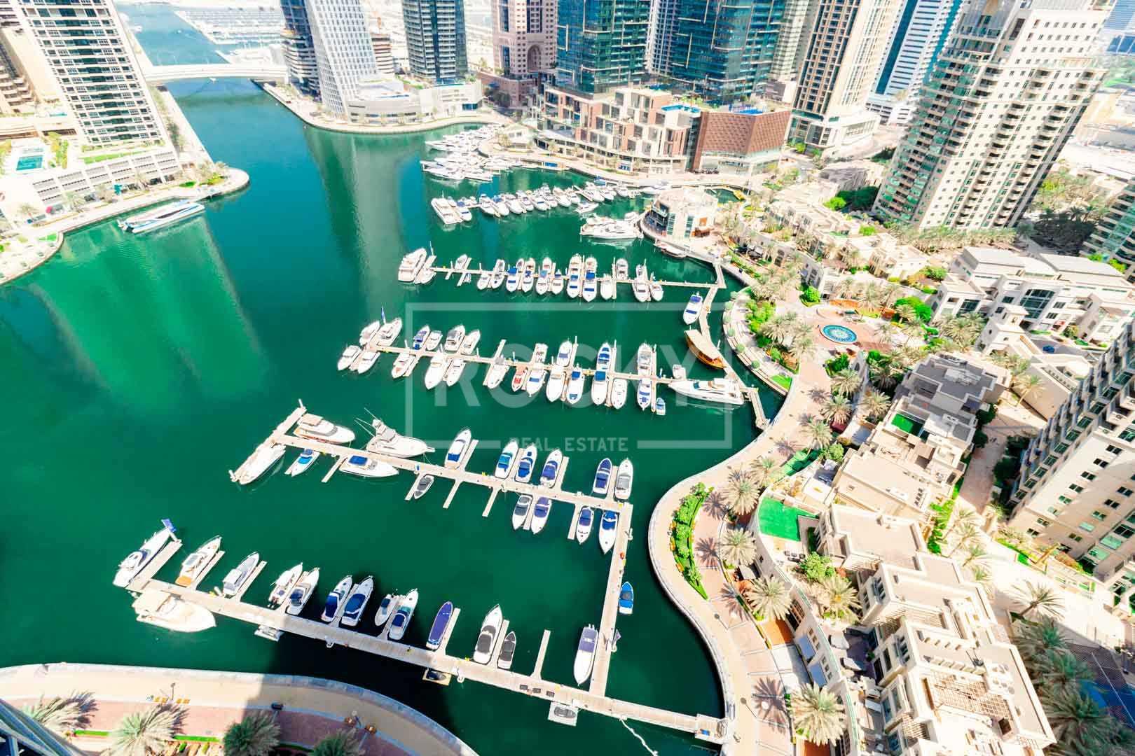 Vacant | Chiller Free | Marina Views