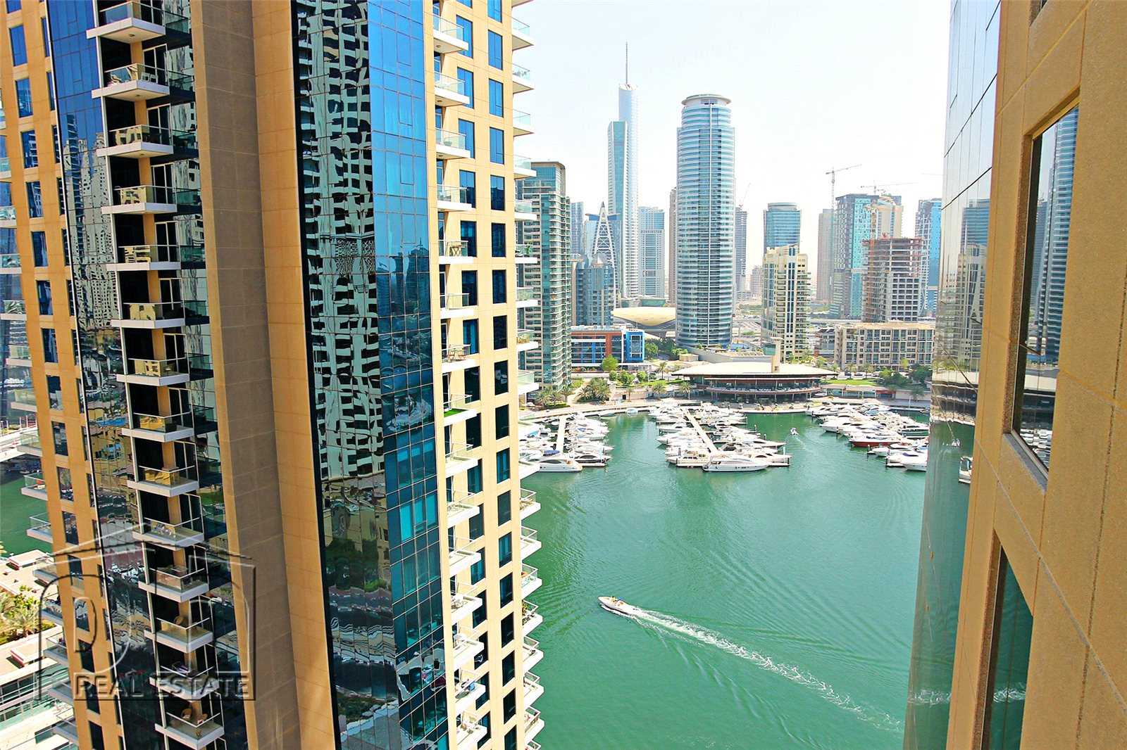 Largest 1BR. Partial marina/sea view. Vacant