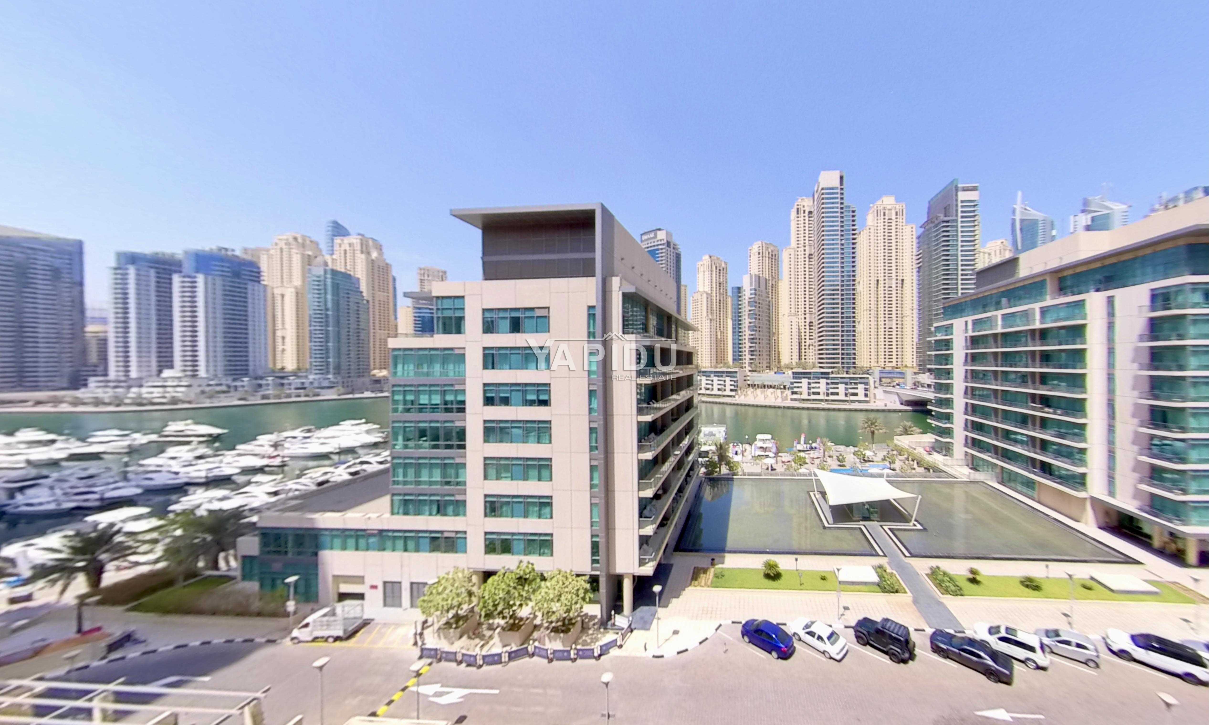 New Listing | 2 Parkings | Marina Views