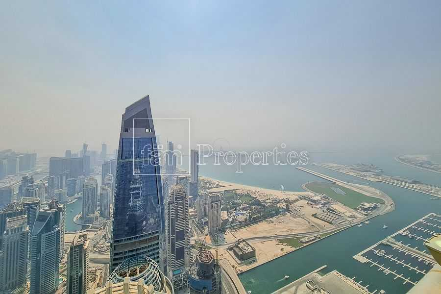 Amazing Sea View | High Floor | Fully Furnished