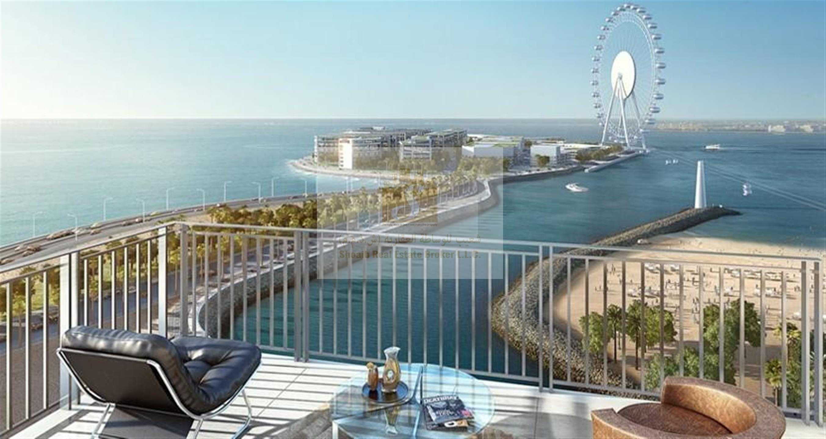 52/42 TOWER 1 | VACANT 2BR FOR SALE 02 SERIES  | PANORAMIC  VIEW OF THE  OCEAN DUBAI EYE