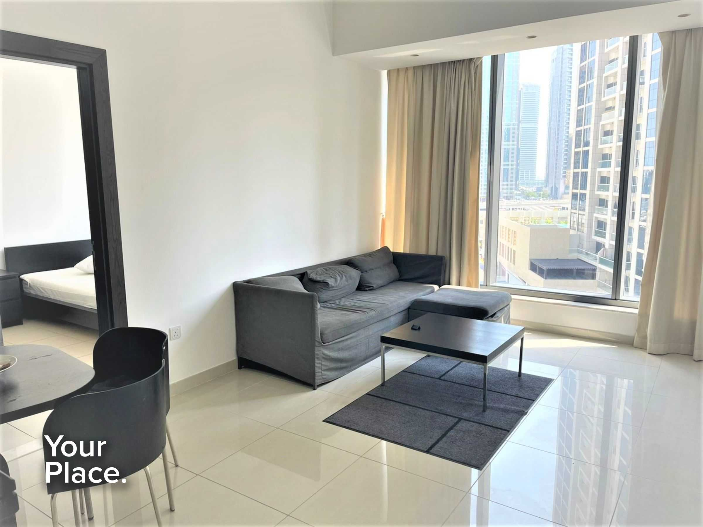 Furnished - Multiple Cheques - Low Floor