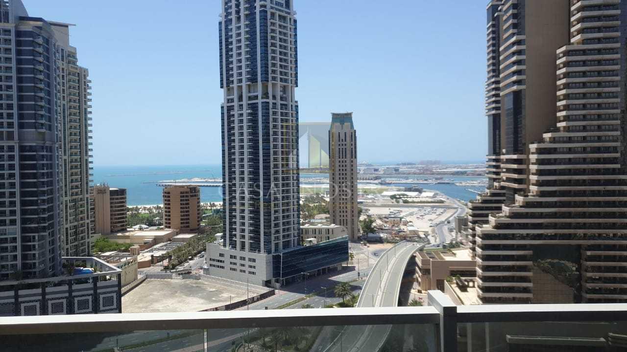 Marina and Sea View Unfurnished 1BR Marina Tower