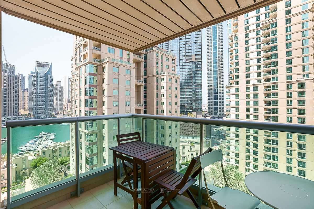 Marina and Emirates Golf Club View| Stunning 2 bed