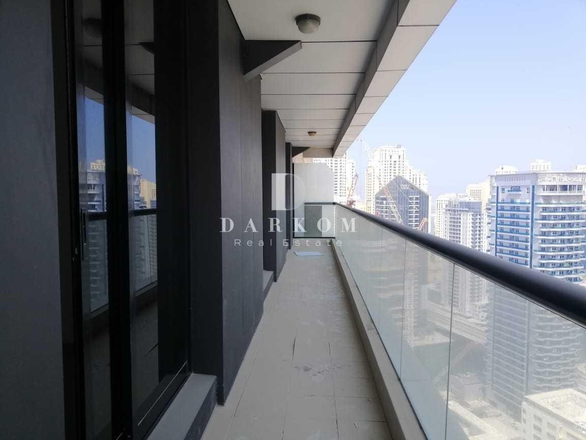 Chiller Free | 2BR | High Floor | Escan Tower | Big Balcony