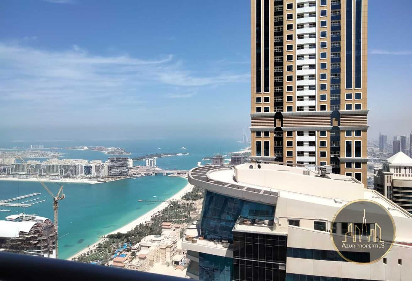 High Floor BRIGHT 1BR WITH Partial SeaView