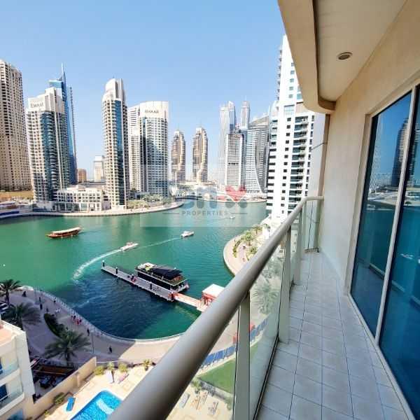 Corner Unit| Marina & Pool view| with Balcony