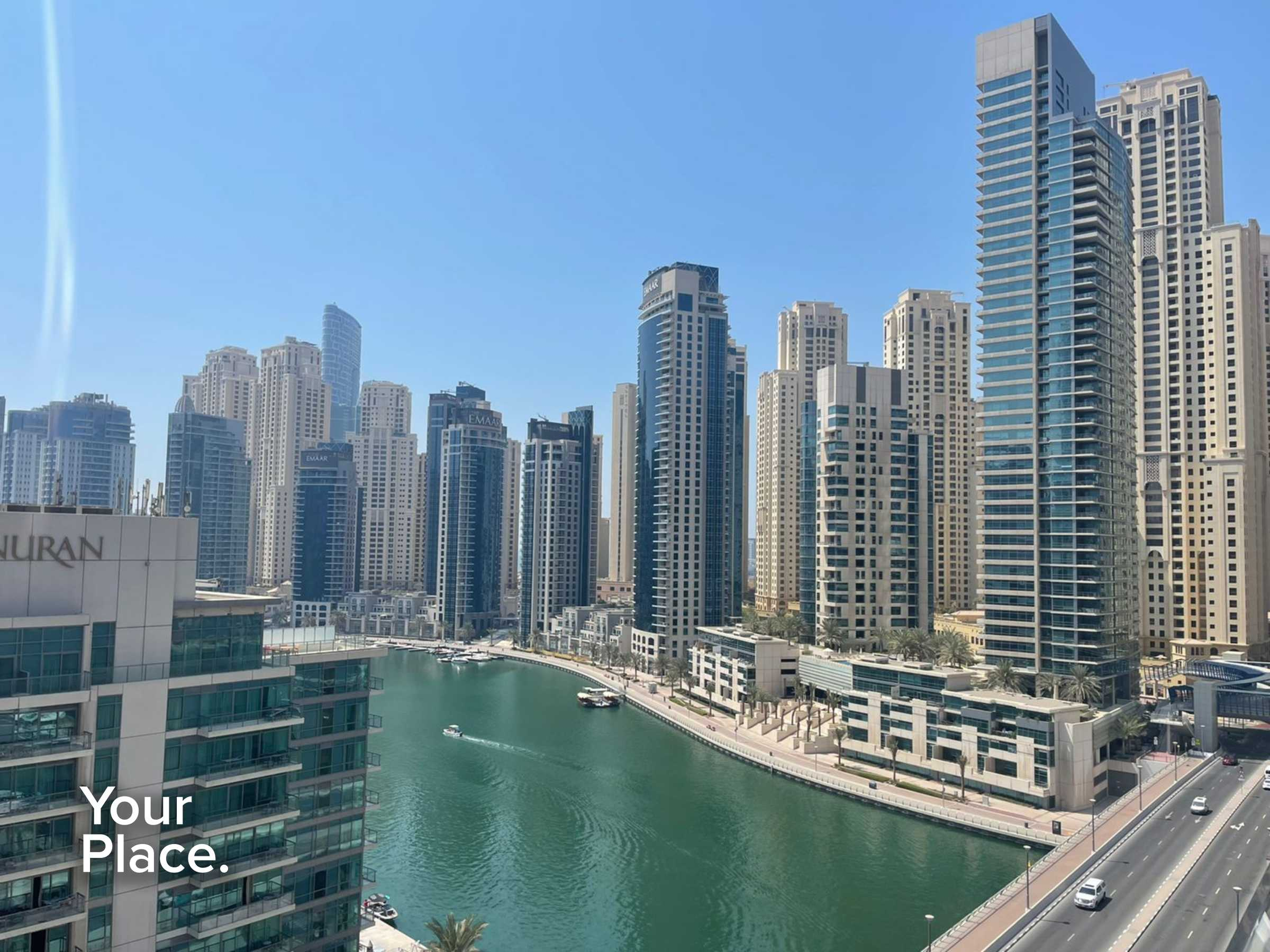 Huge Layout - Marina View - Multiple Cheques - Kitchen Equipped