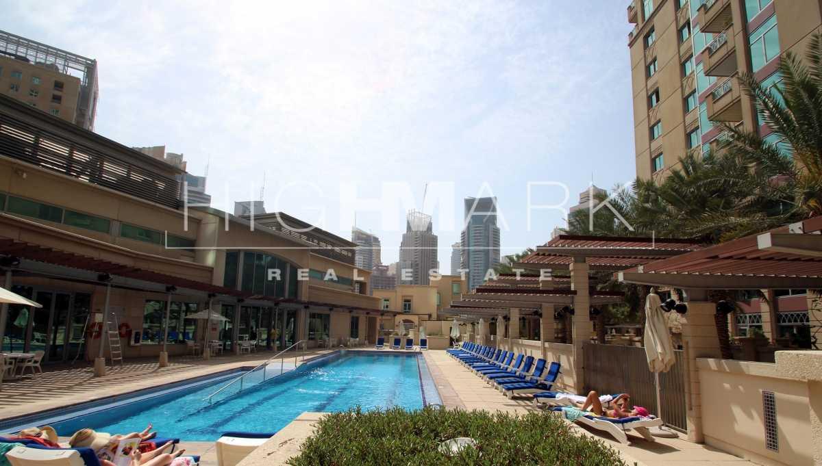 Al Murjan Tower  2BR +Study EMAAR 6  Rented