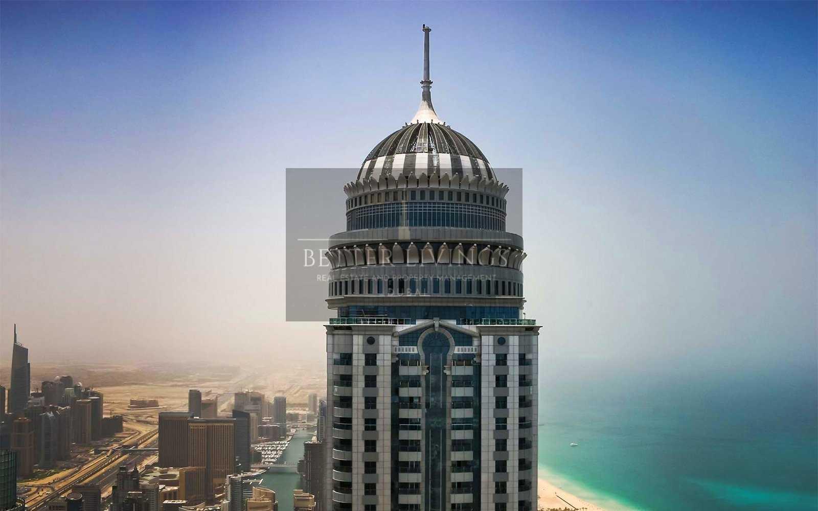 Stunning 1 Bedroom | High Floor | Princess Tower Dubai  Marina