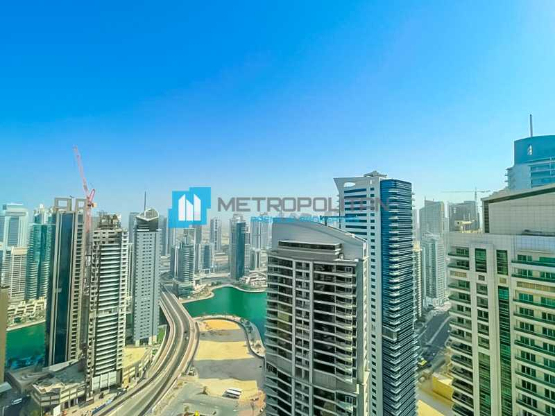Sea and Marina View  High Floor  Ready to Move In