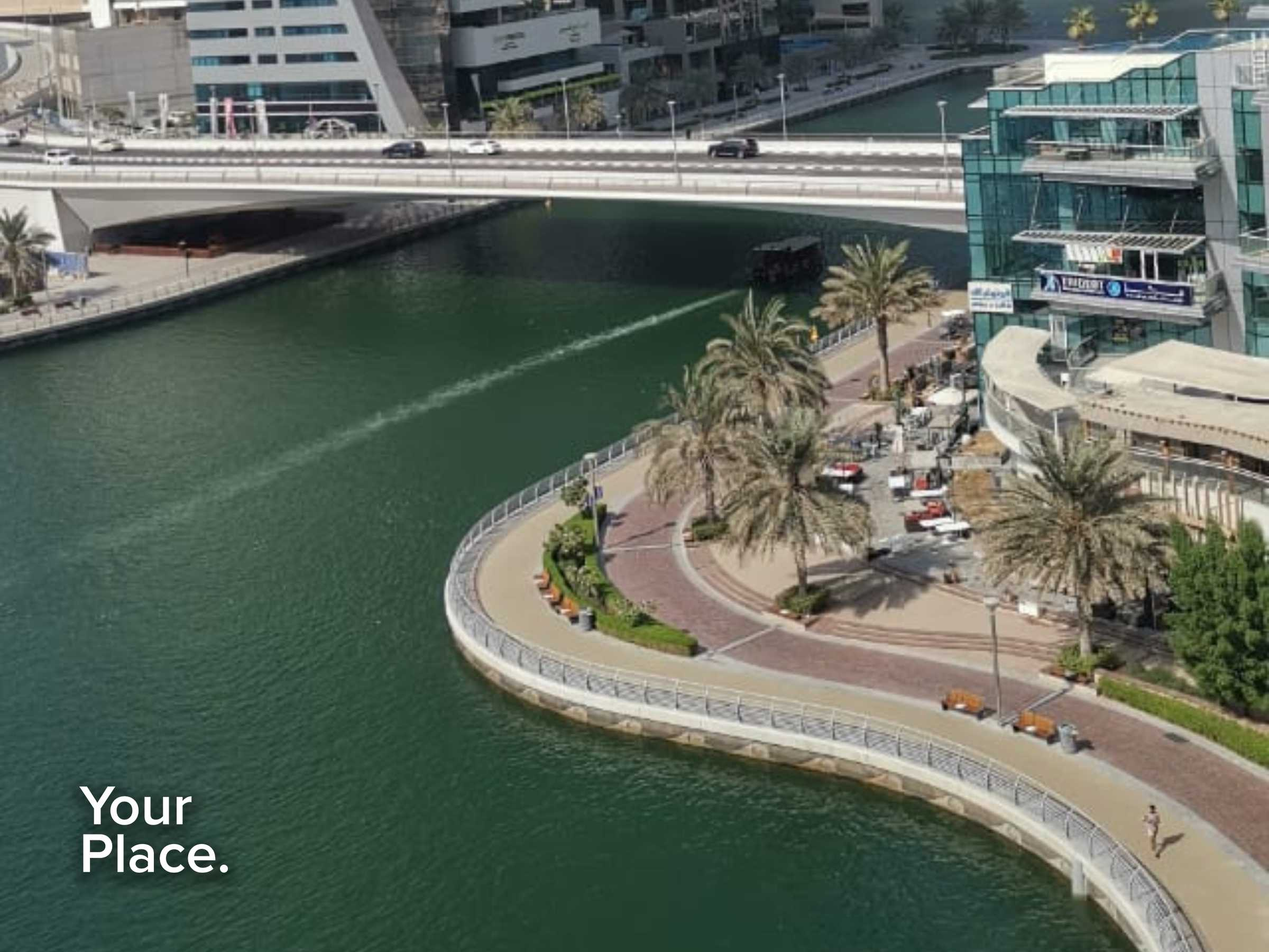Chiller FREE   Vacant   Unfurnished   Marina view