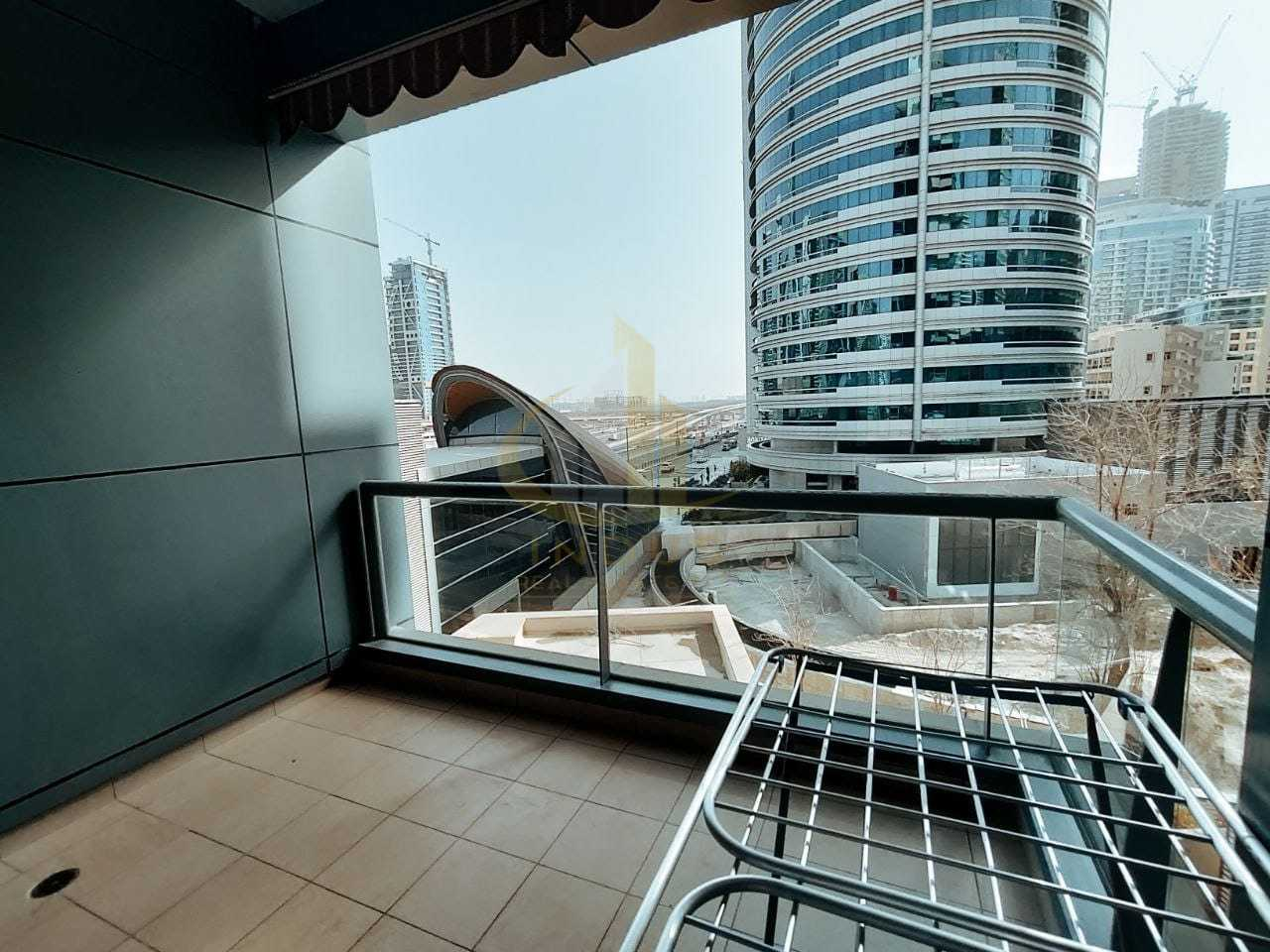 Next to Metro  Station   1 Bedroom   Chiller Free   Unfurnished