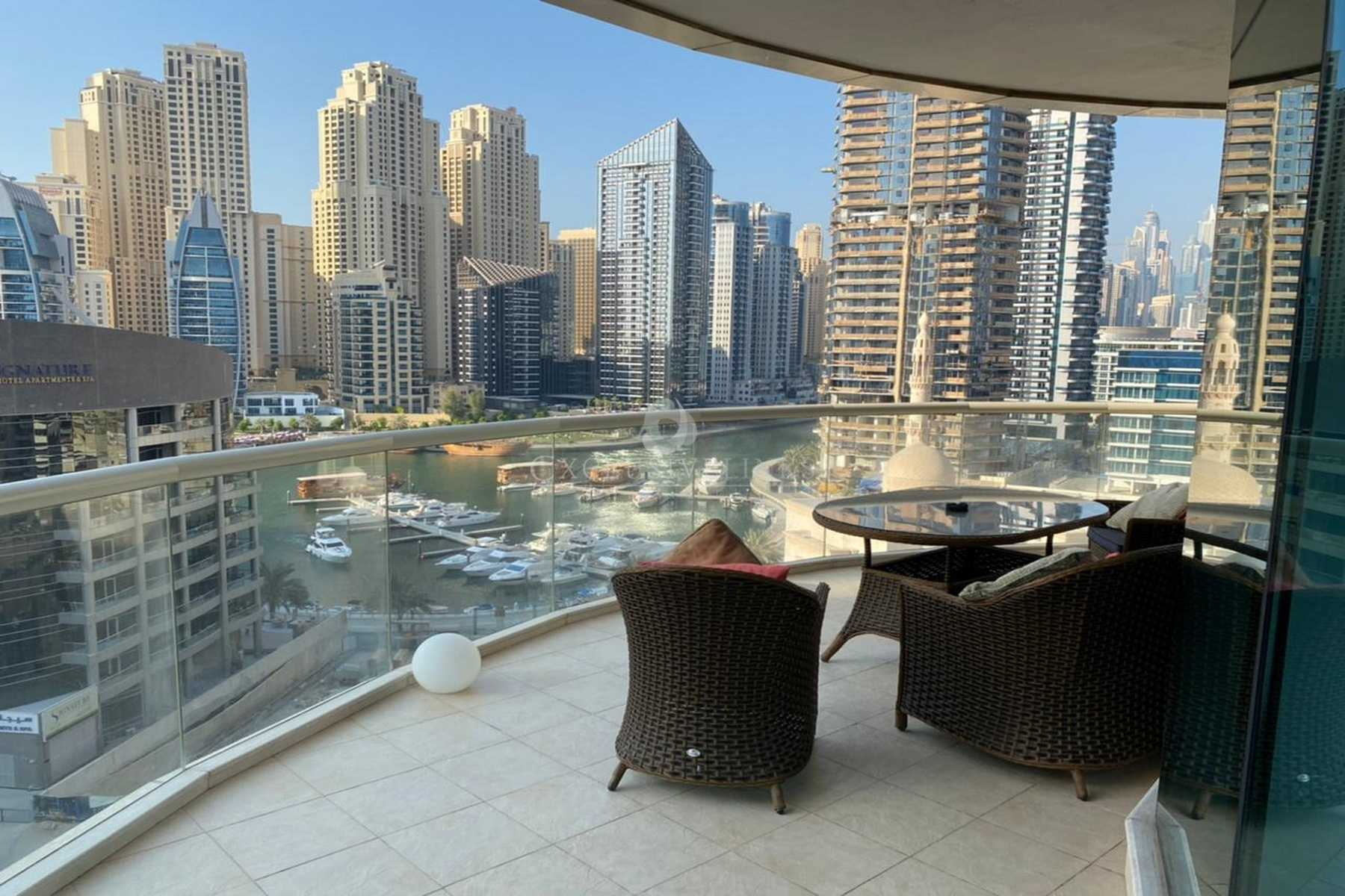 Marina View / Upgraded / Specious 3BR+Maids