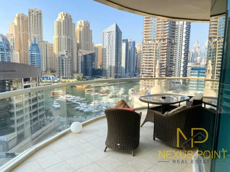 Amazing Partial Marina View & Sea View 3 BR