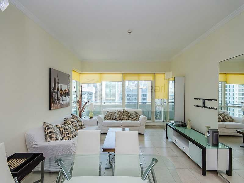 High Floor w/ Balcony Fully Furnished Chiller Free