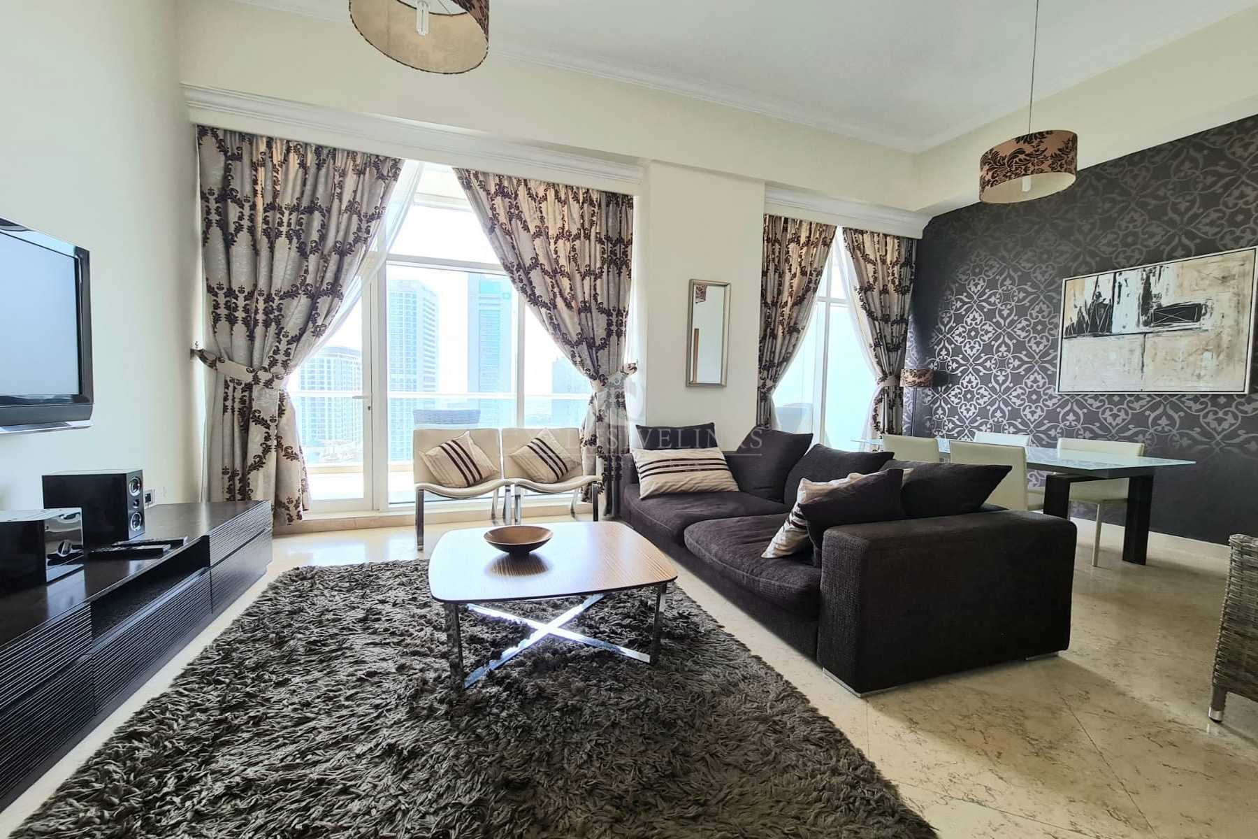 Fully furnished and equipped 2 bed in Dubai Marina