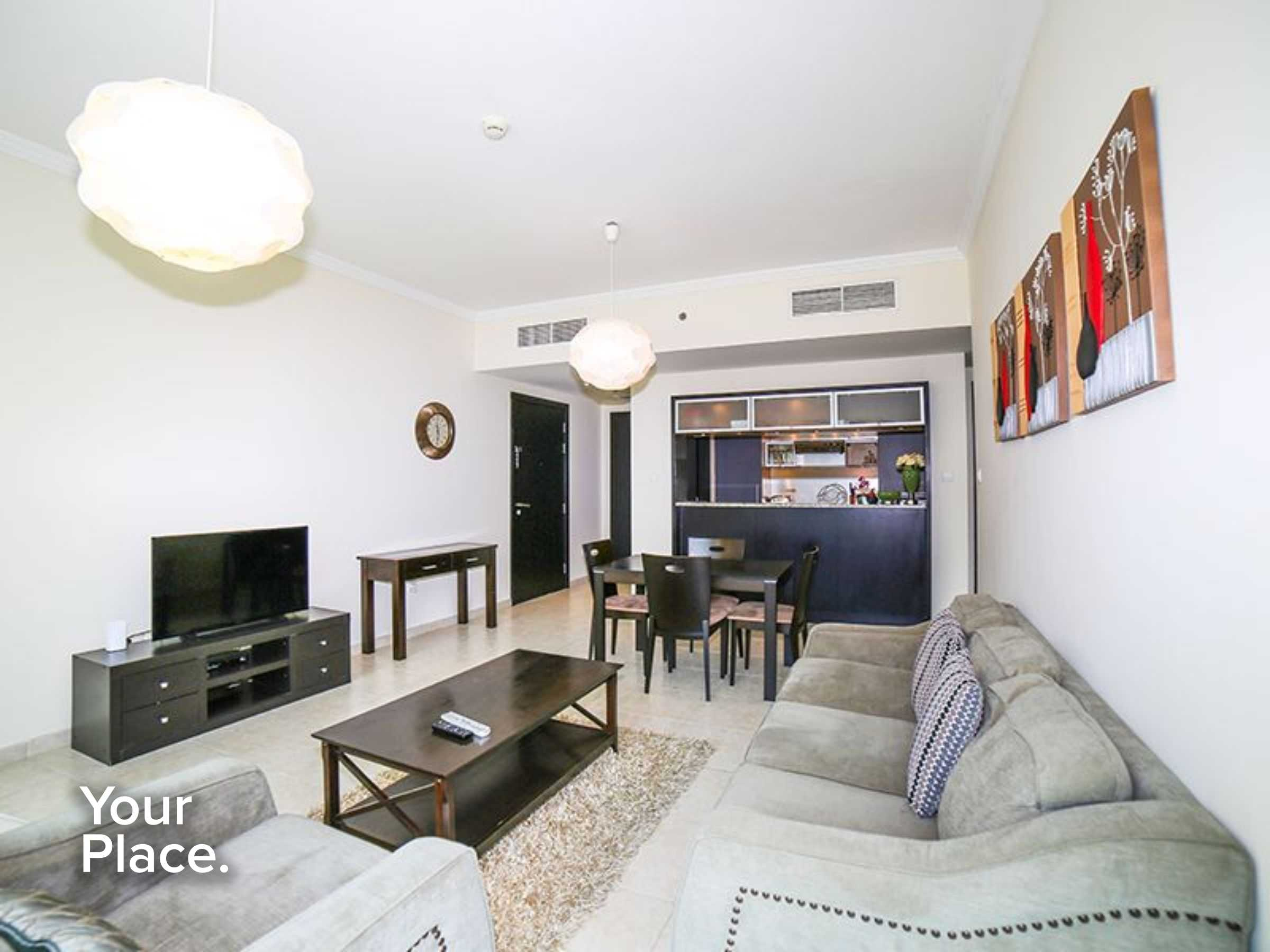 Beautiful fully furnished apartment vacant street view
