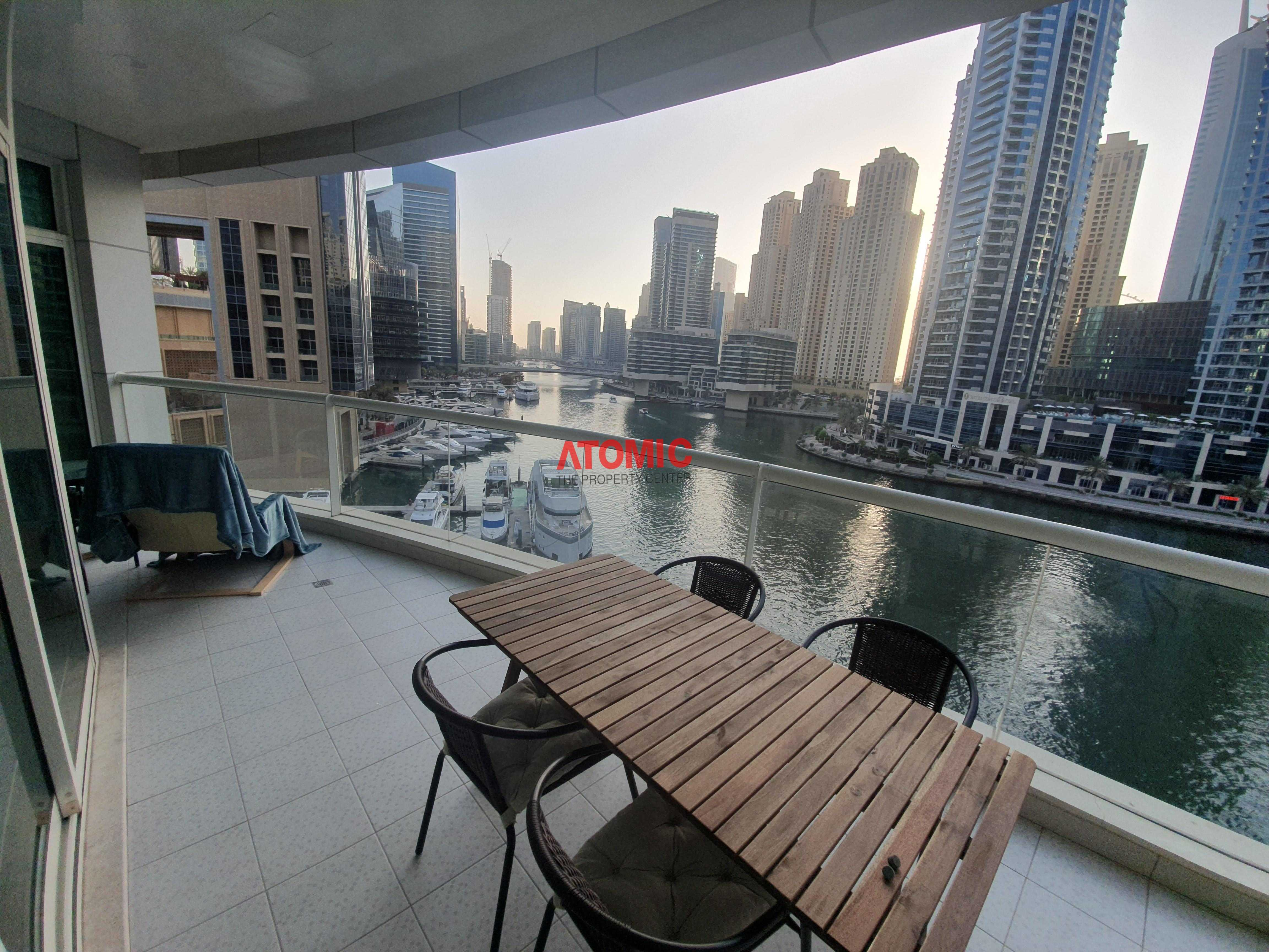 Full Marina View |  Huge Terrace |  New Furniture