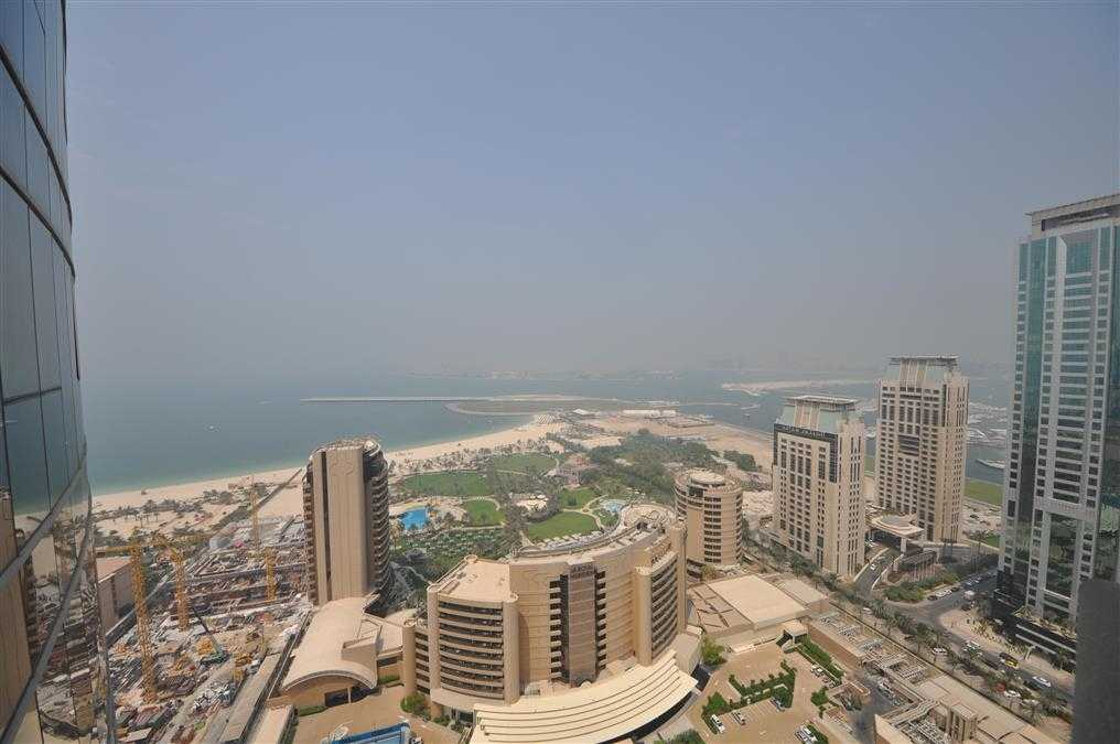 Fully furnished 2 BR with full sea and marina view high floor