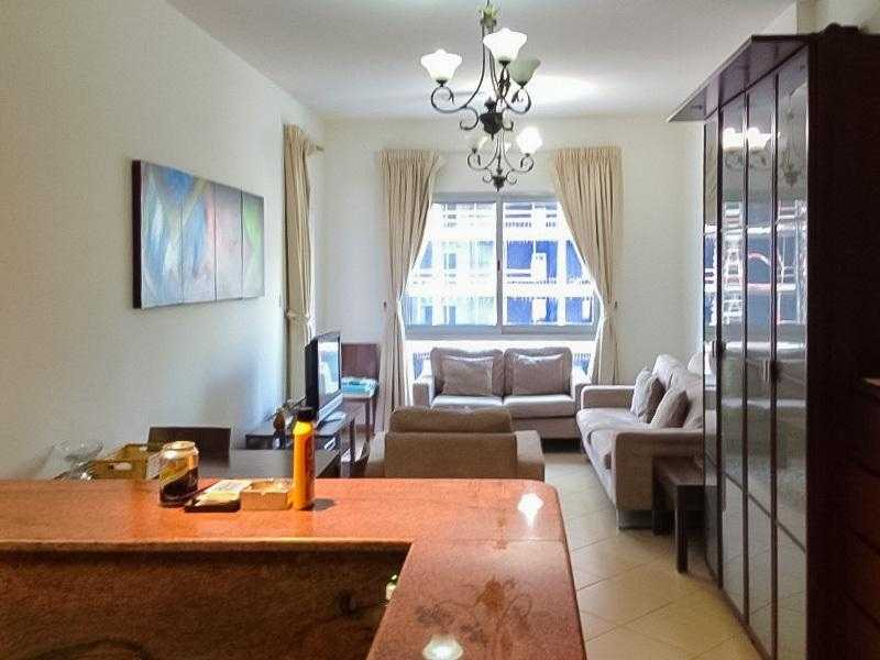 Fully Furnished-Kitchen Appliances-1 BHK-Vacant