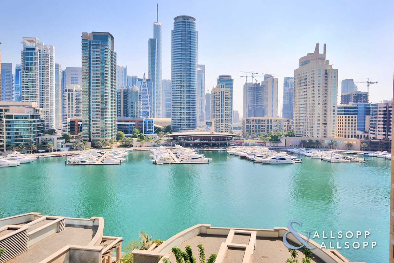 2 Bedrooms + Study | Furnished | Marina View