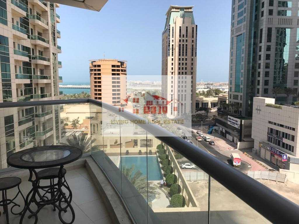 FULLY FURNISHED APARTMENT IN 120,000 BY 4 CHEQUES SEA VIW