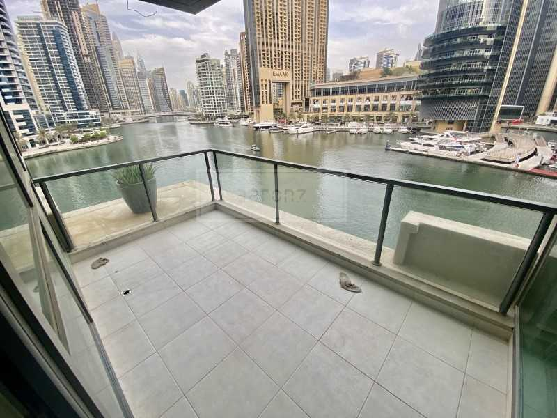 Full Marina View | Low Floor | Vacant | Maid\'s