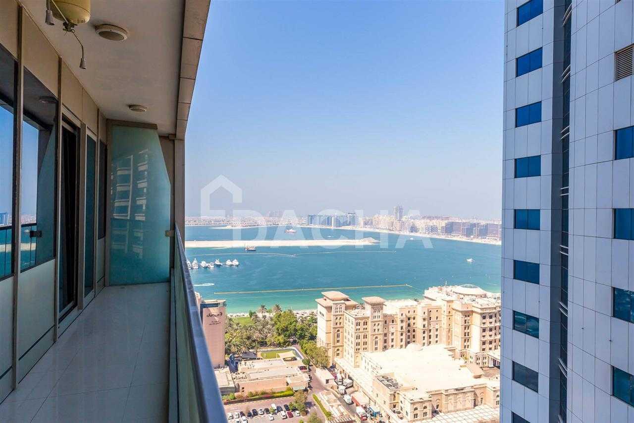 Palm / Sea Views / Mid Floor / Unfurnished!